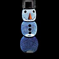 Perky-Pet® Solar Hat Snow Man Wild Bird Feeder - 2.25 lb Seed Capacity