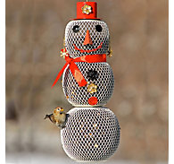 Perky-Pet® Snow Woman Wild Bird Feeder - 2.25 lb Seed Capacity