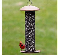 NO/NO® Straight-Sided Sunflower Tube Wild Bird Feeder