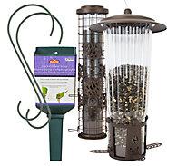 Perky-Pet® Flexport® Duo Bird Feeder Kit