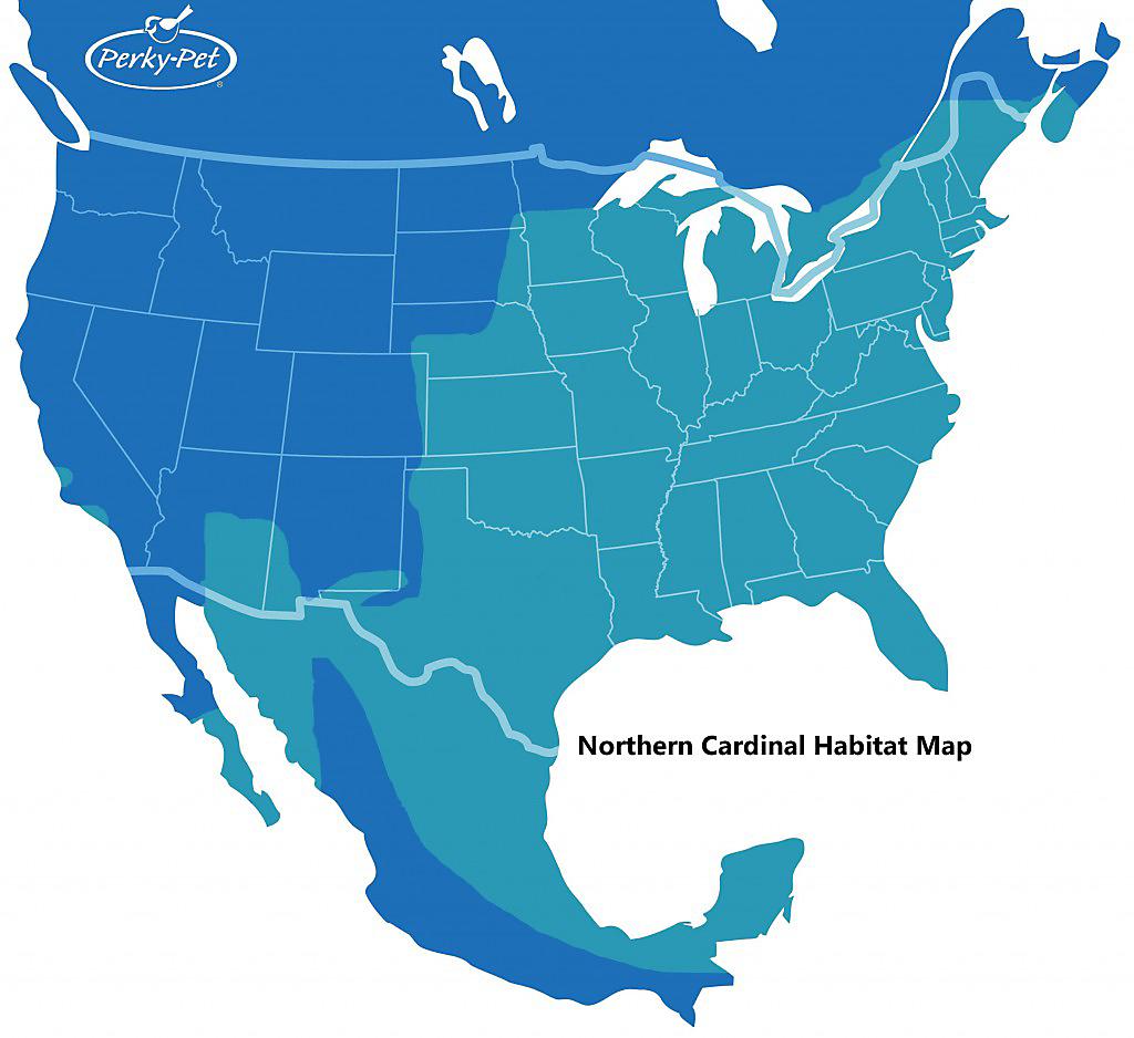 cardinal habitat map