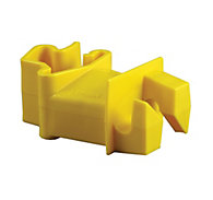 Red Snap'r® T-Post Insulator, Yellow