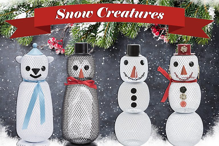 snow creatures feeders