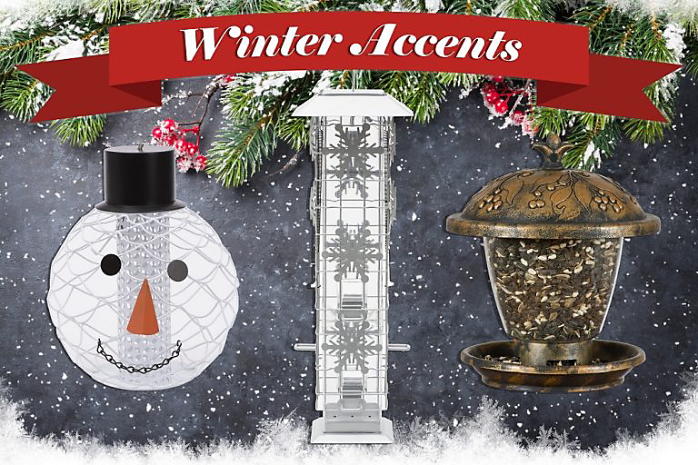 winter accents feeders